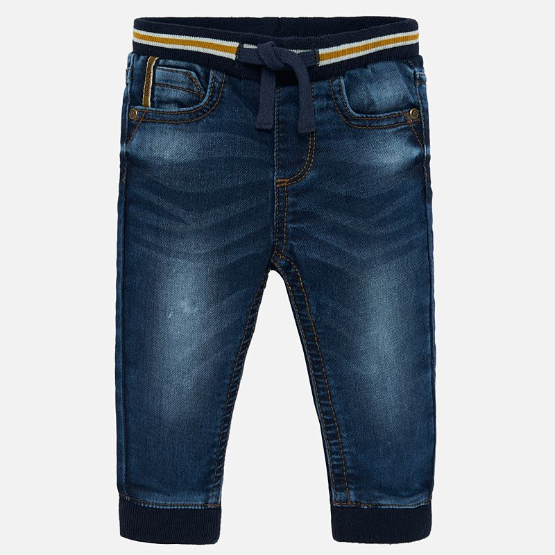 Mayoral Baby Boy AW19 Cuffed jean joggers 2537 (4319558959202)