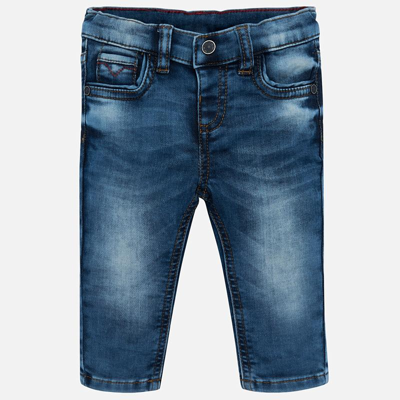 Mayoral Baby Boy AW19 Slim fit soft jeans 2542 (4339998621794)
