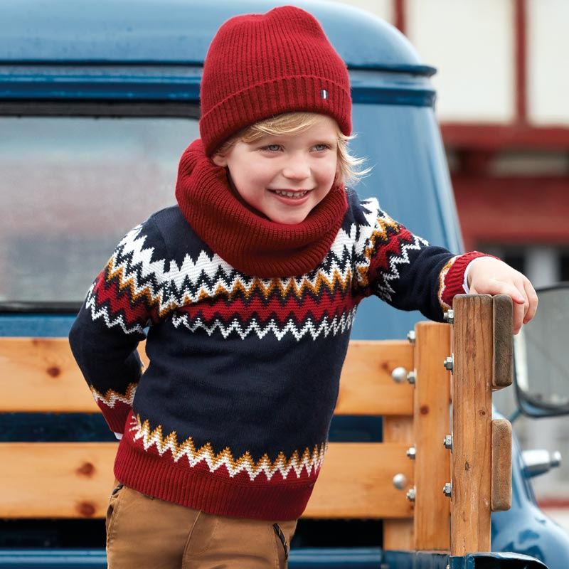 Mayoral Boy AW19 Patterned Jumper 4313 (3968027590754)