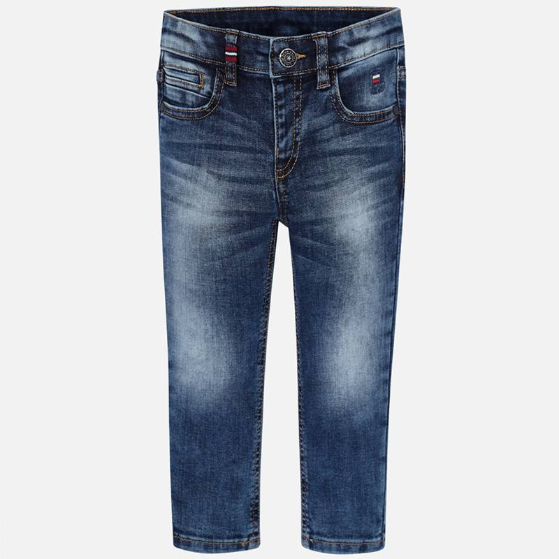 Mayoral Boy AW19 Super Slim Fit Jeans Light 4514 (3968028115042)