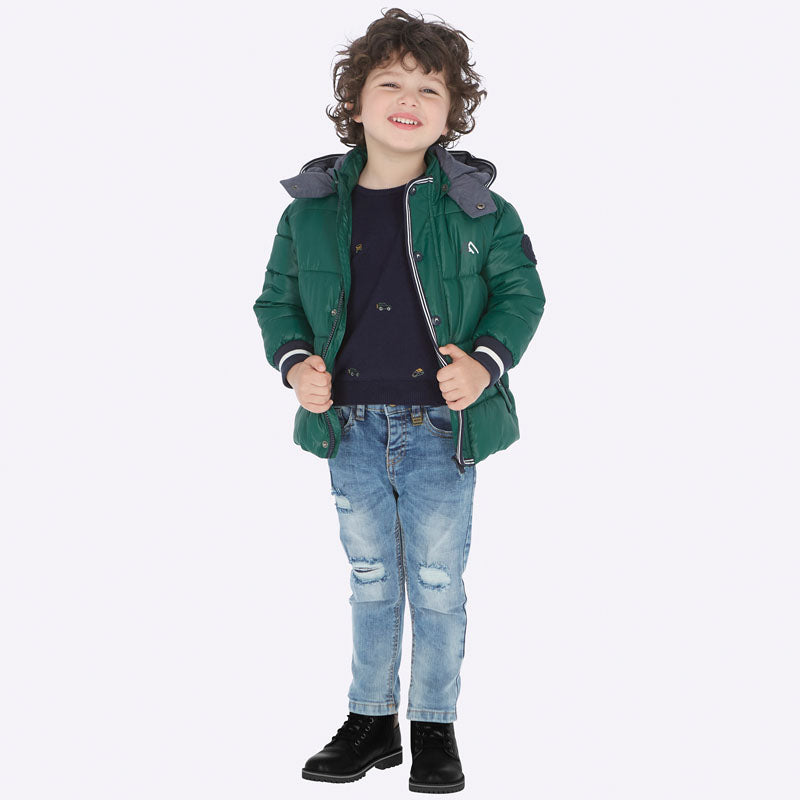 Mayoral Boy AW19 Loose fit Ripped Jeans 4520 (3968031948898)