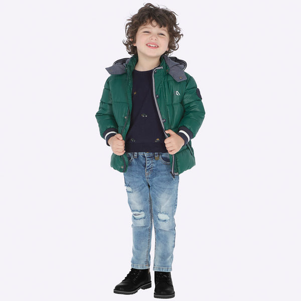 Mayoral Boy AW19 Loose fit Ripped Jeans 4520