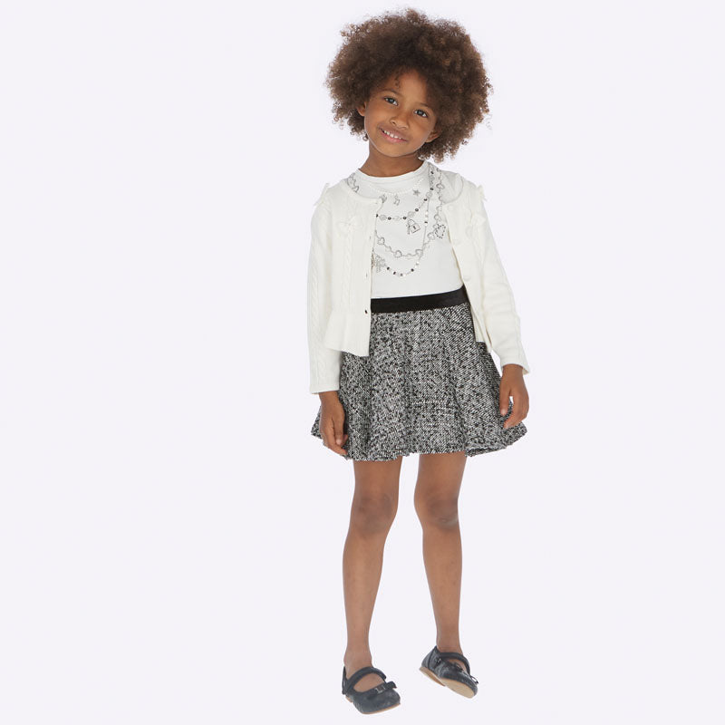 Mayoral Girl AW19 Skirt Set 4948 (3874671001698)