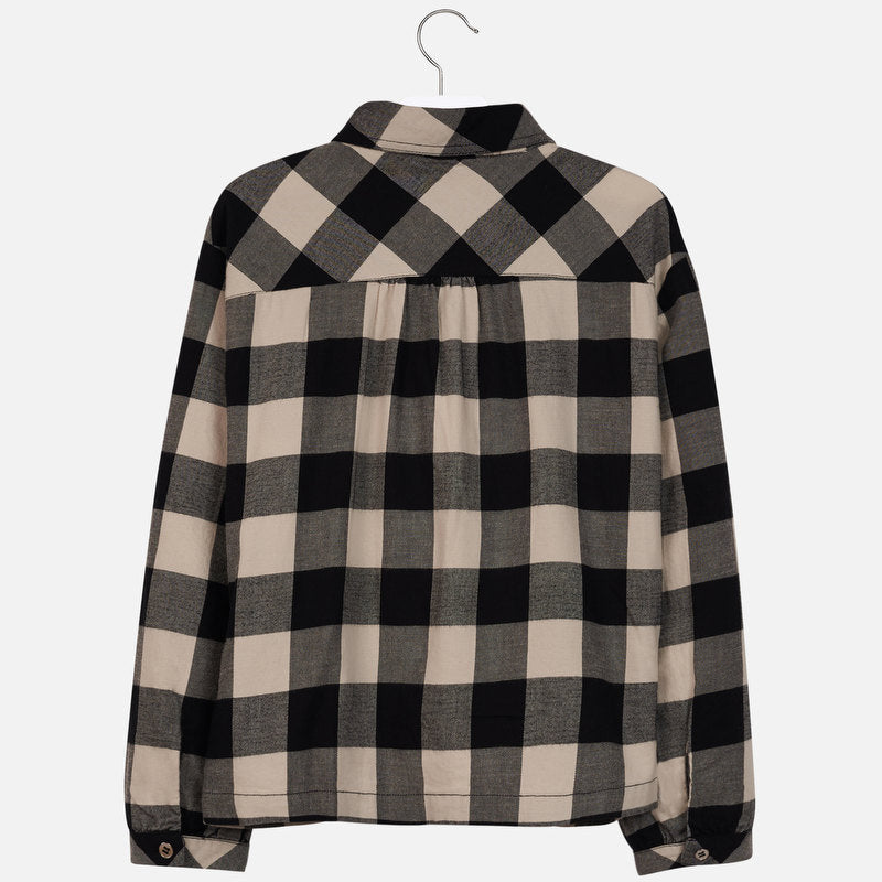 Mayoral Girl AW19 Plaid Blouse 7106 (3878484639842)