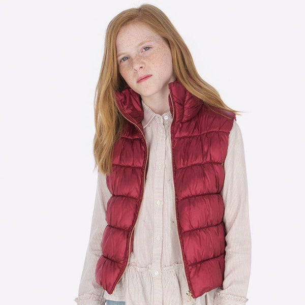 Mayoral Girl AW19 Ruby padded Gilet 7307 (3878580912226)