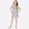 Mayoral Girl AW19 Silver Applique Dress 7943 (3923571802210)
