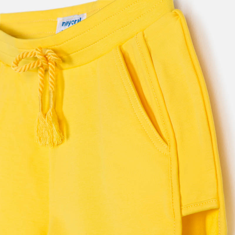 Mayoral Girl SS20 Sporty shorts Yellow 624 (4370522472546)