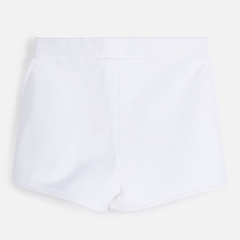 Mayoral Girl SS20 Sporty shorts White 624 (4370522538082)