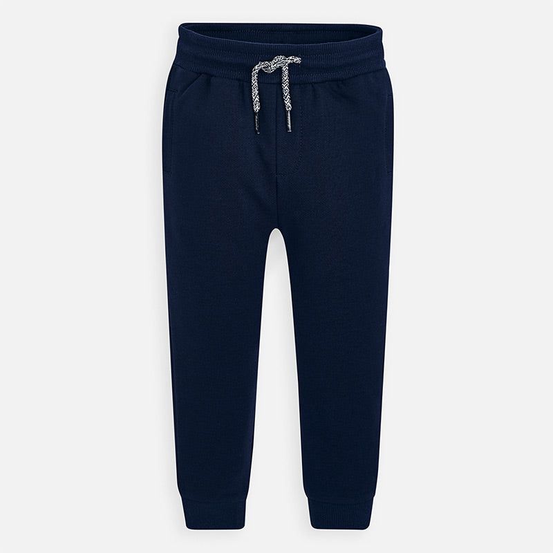 Mayoral Boy SS20 Fleece Joggers Navy 742 (4368312860770)