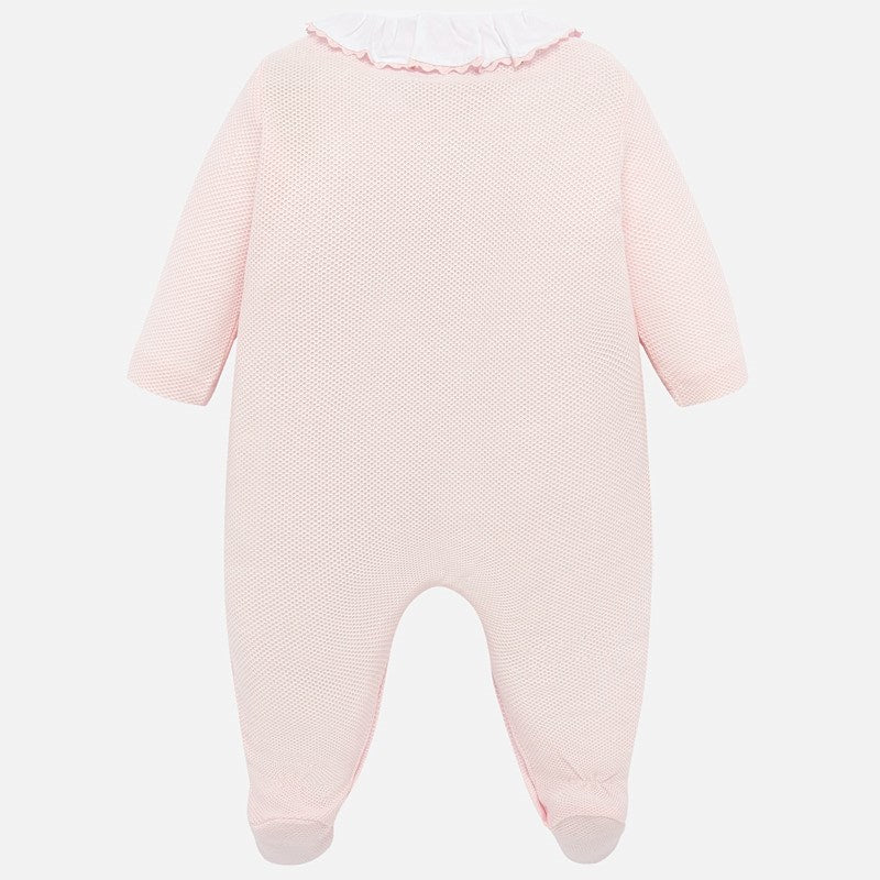 Mayoral Baby Girl SS20 Babygrow with Bow design 1754 (4370674647138)