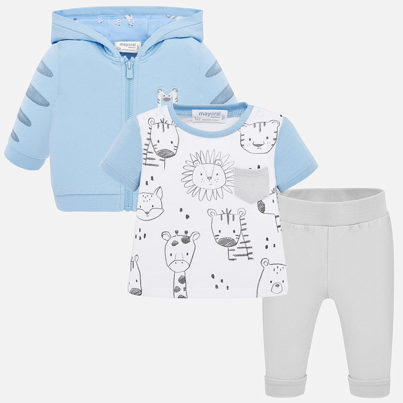 Mayoral Baby Boy SS20 3 piece tracksuit 1867 (4370759123042)