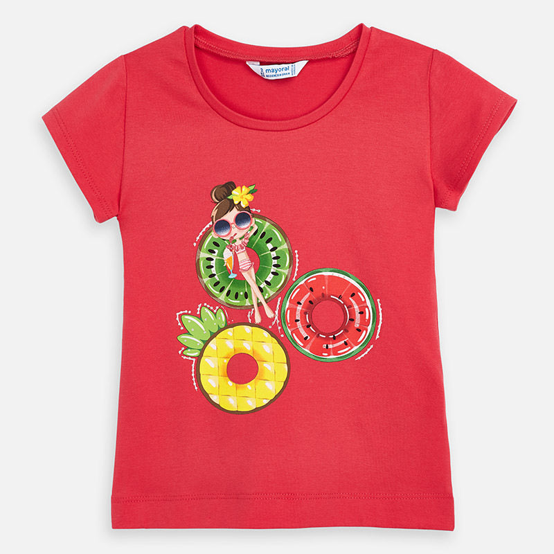 Mayoral Girl SS20 Watermelon girl print Top 3017 (4355205038178)