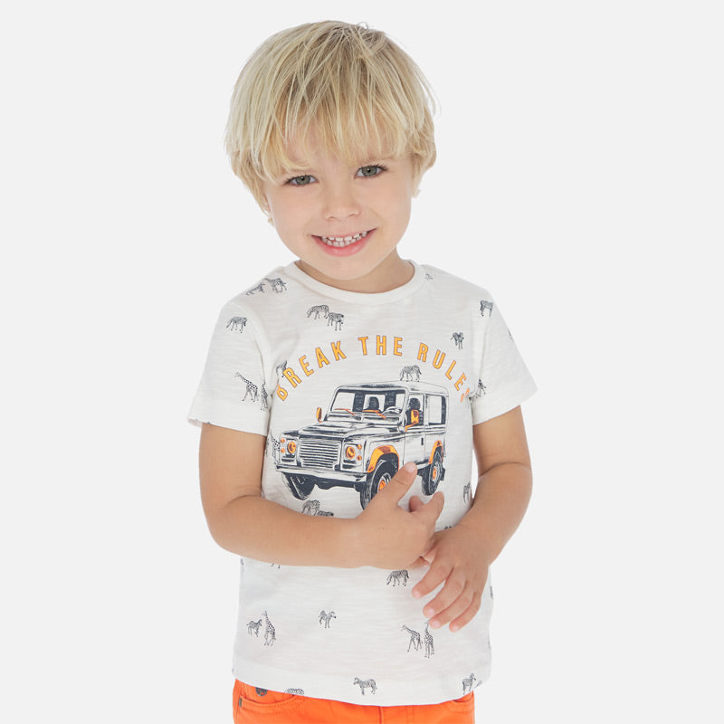 Mayoral Boy SS20 Short sleeved car t-shirt 3062 (4368322658402)