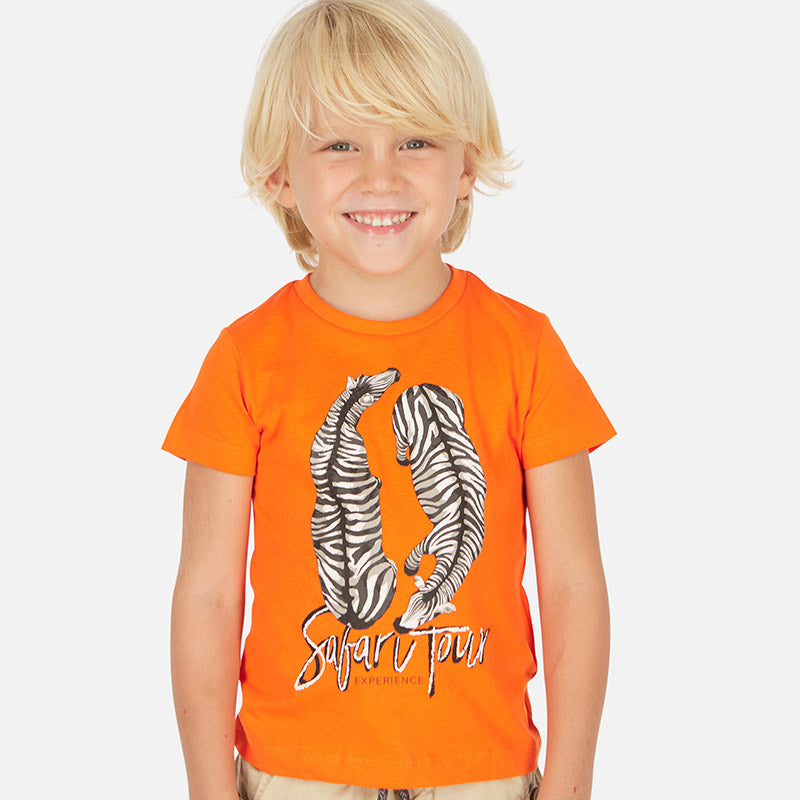 Mayoral Boy SS20 Short sleeved safari tour t-shirt 3063 (4368312270946)