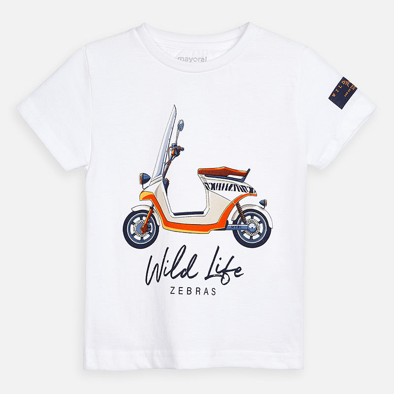 Mayoral Boy SS20 Short sleeved vehicle print t-shirt 3071 (4368336191586)