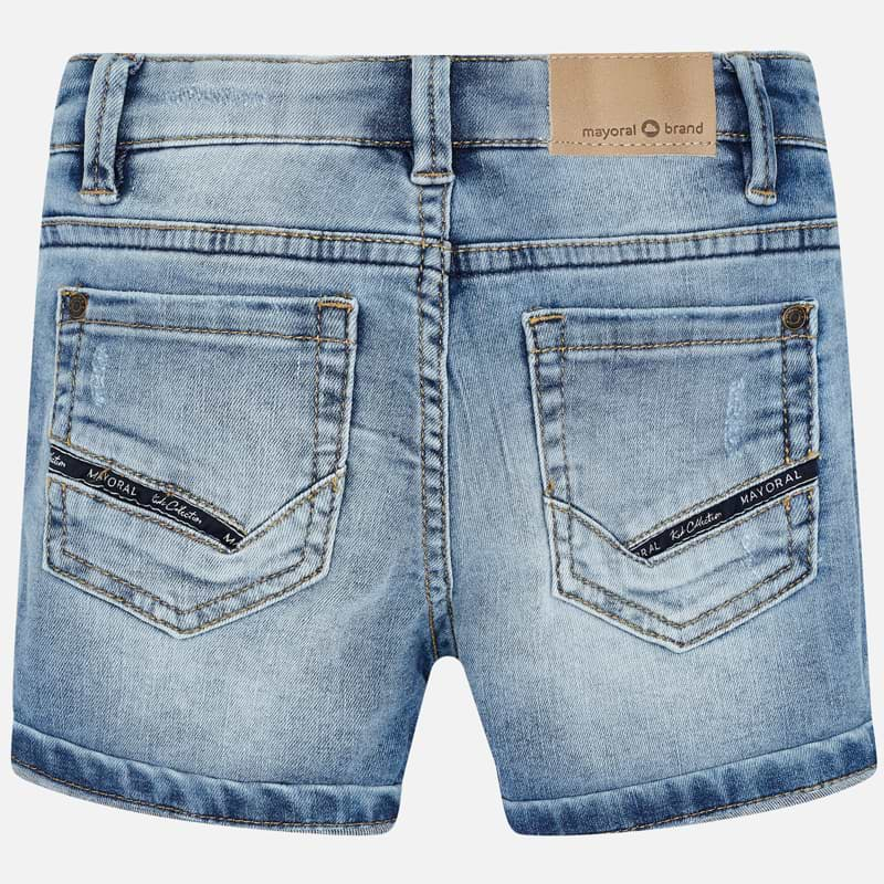 Mayoral Boy SS20 Sustainable Light denim shorts 3249 (4368314171490)