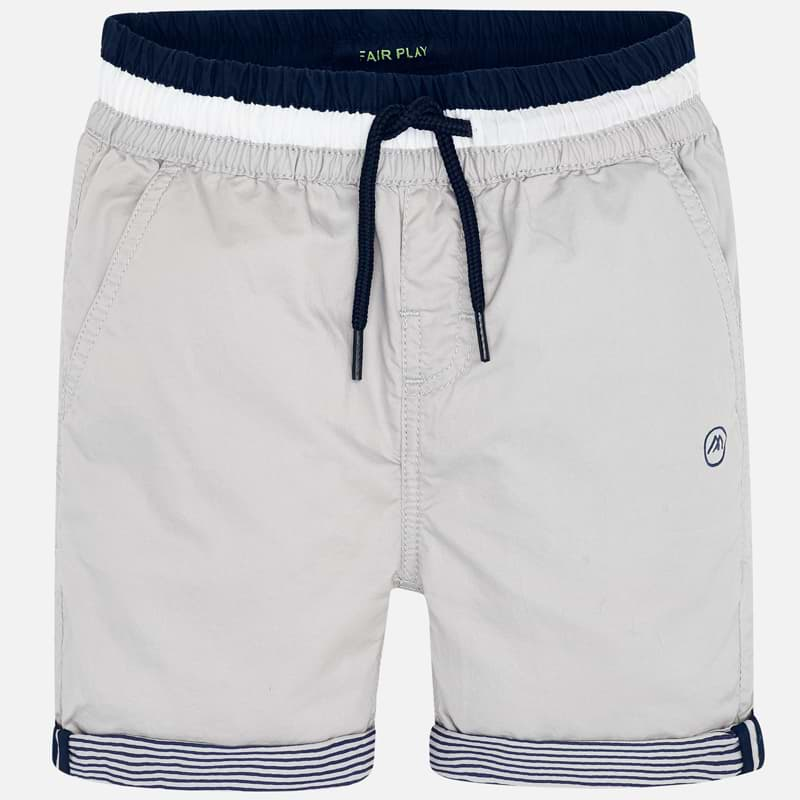 Mayoral Boy SS20 Bermuda shorts with drawstring Stone 3254 (4368492003426)