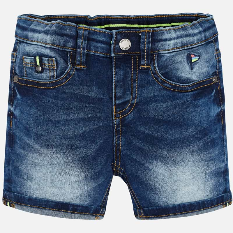 Mayoral Boy SS20 Dark Denim bermuda shorts 3255 (4368493838434)