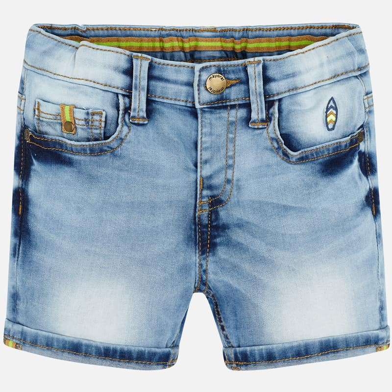 Mayoral Boy SS20 Denim bermuda shorts 3255 (4368421093474)