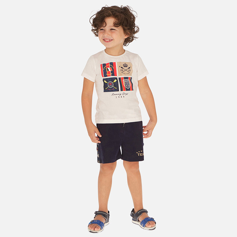 Mayoral Boy SS20 Navy Shorts 3261 (4368315777122)