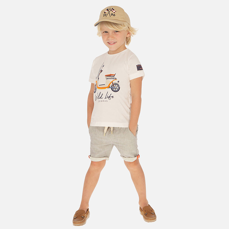 Mayoral Boy SS20 Striped bermuda shorts 3263 (4368411328610)