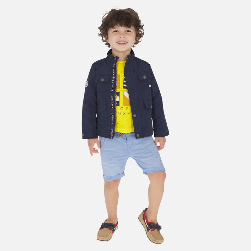 Mayoral Boy SS20 Bermuda shorts with drawstring 3266 (4368451862626)