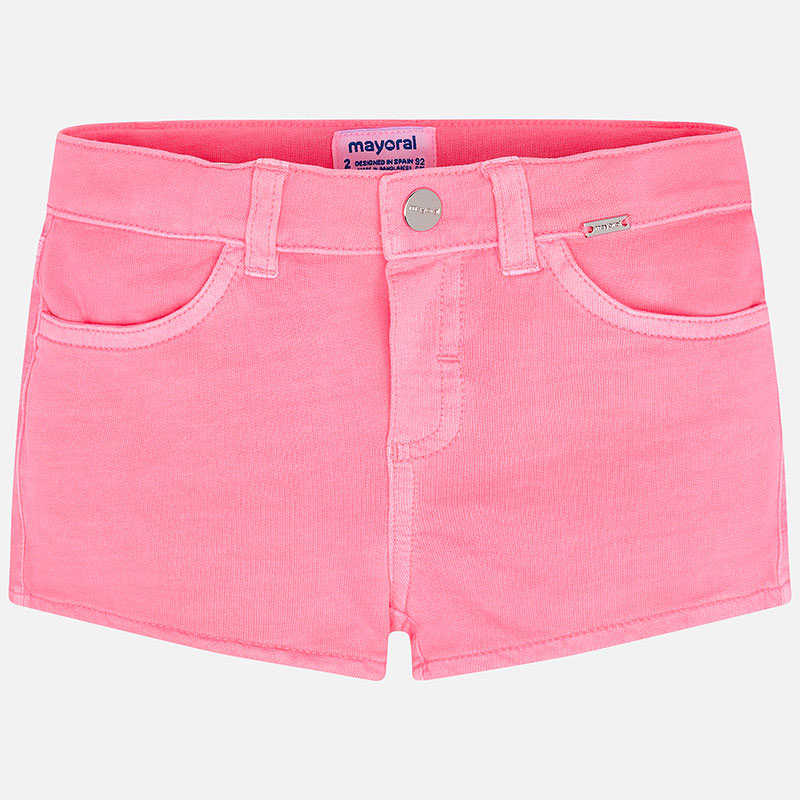 Mayoral Girl SS20 Pink Shorts 3284 (4360557363298)