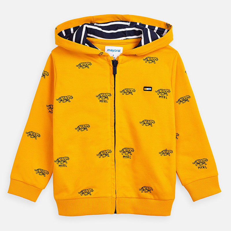 Mayoral Boy SS20 Embroidered Tiger sweatshirt 3446 (4368321577058)