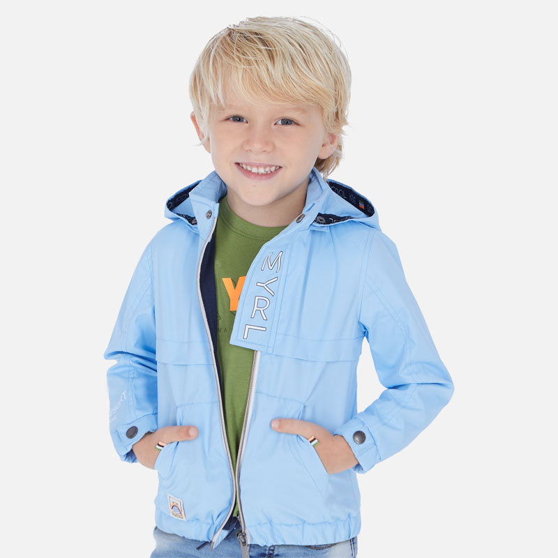 Mayoral Boy SS20 Sky Blue windbreaker jacket 3458 (4368470212706)