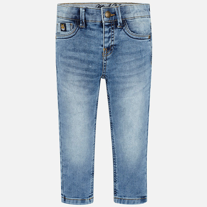Mayoral Boy SS20 Straight fit sustainable jeans 3529 (4368321445986)
