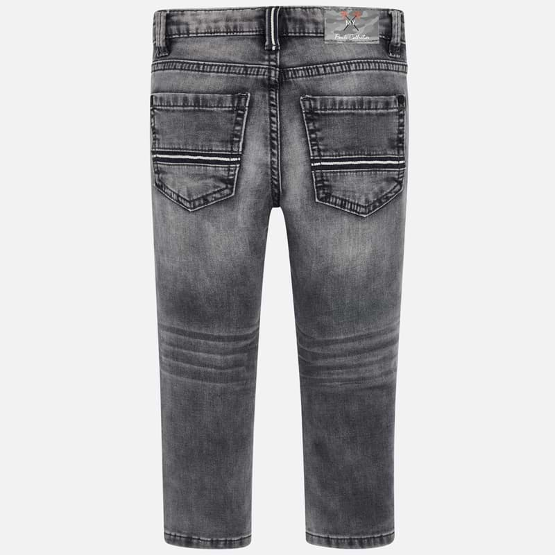 Mayoral Boy SS20 Grey Slim fit jeans 3534 (4368323215458)