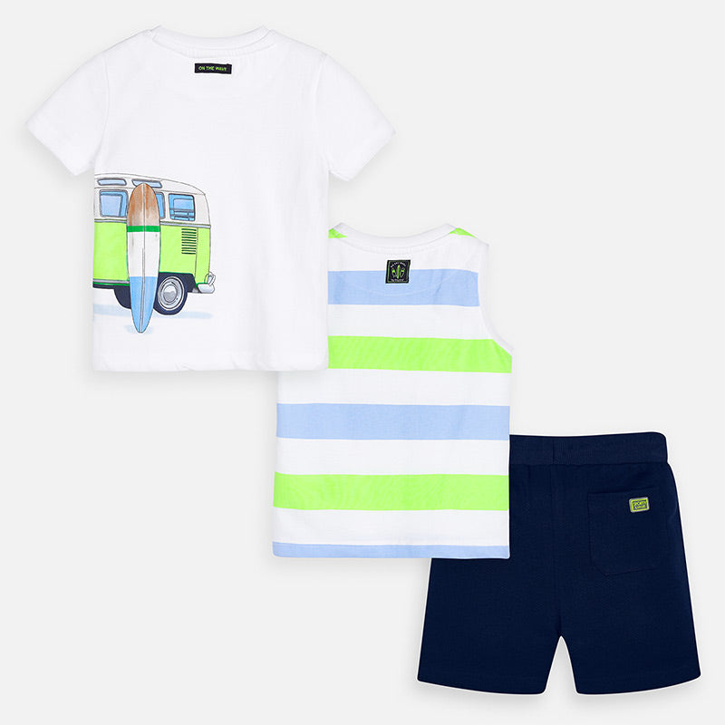 Mayoral Boy SS20 Neon 3 Piece Set 3622 (4368435445858)