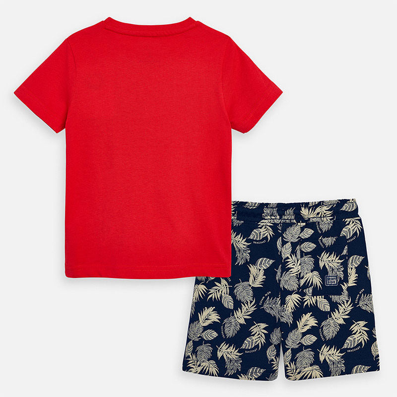 Mayoral Boy SS20 Sunset T-shirt and shorts set 3625 (4368310435938)