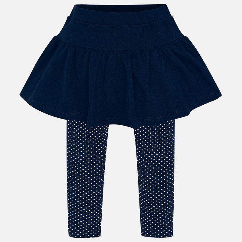 Mayoral Girl SS20 Navy Skirt Leggings 3717 (4353819967586)