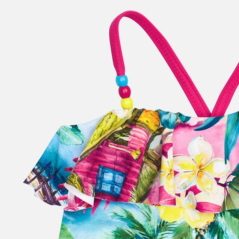 Mayoral Girl SS20 Tropical Swimsuit 3730 (4360554578018)