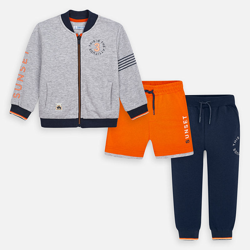 Mayoral Boy SS20 Mixed tracksuit with print designs 3813 (4368477782114)