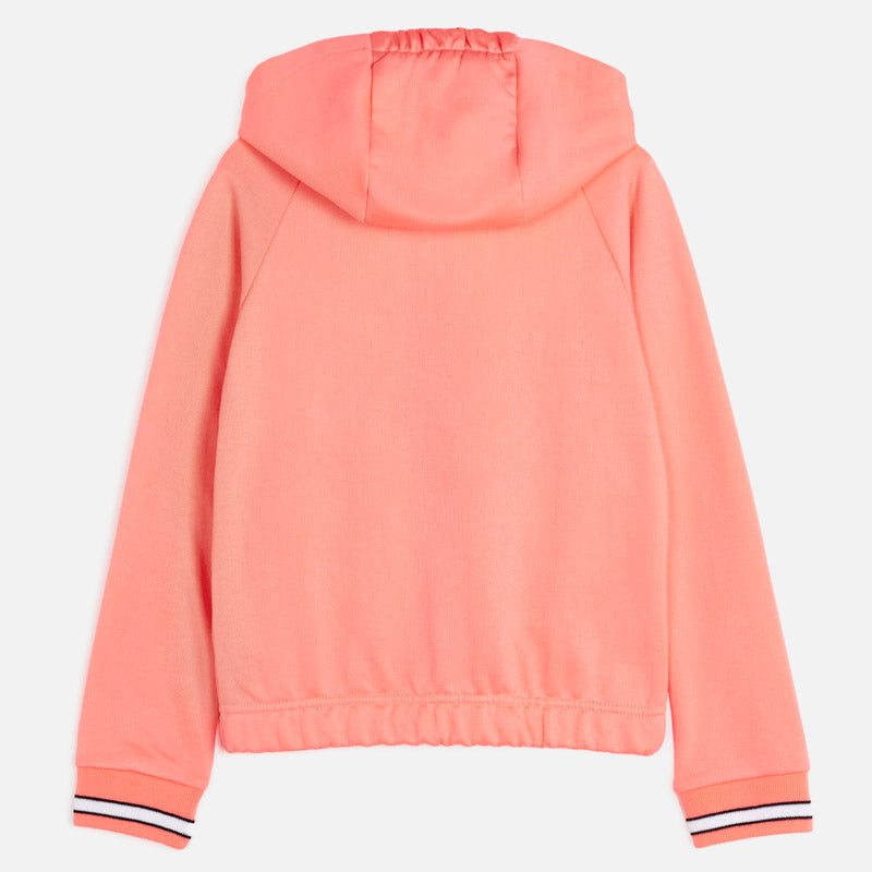 Mayoral Girl SS20 Hooded Sweatshirt Flourescent 6462 (4370641518690)