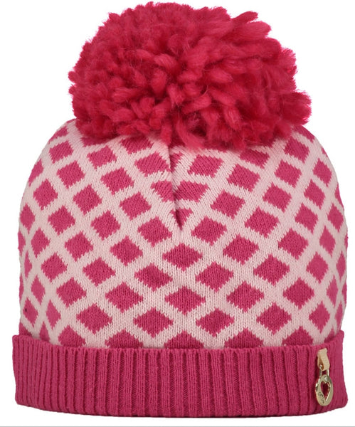 A Dee Ally Hot Pink Knitted Hat 1911 - Bumkins Designer Kids