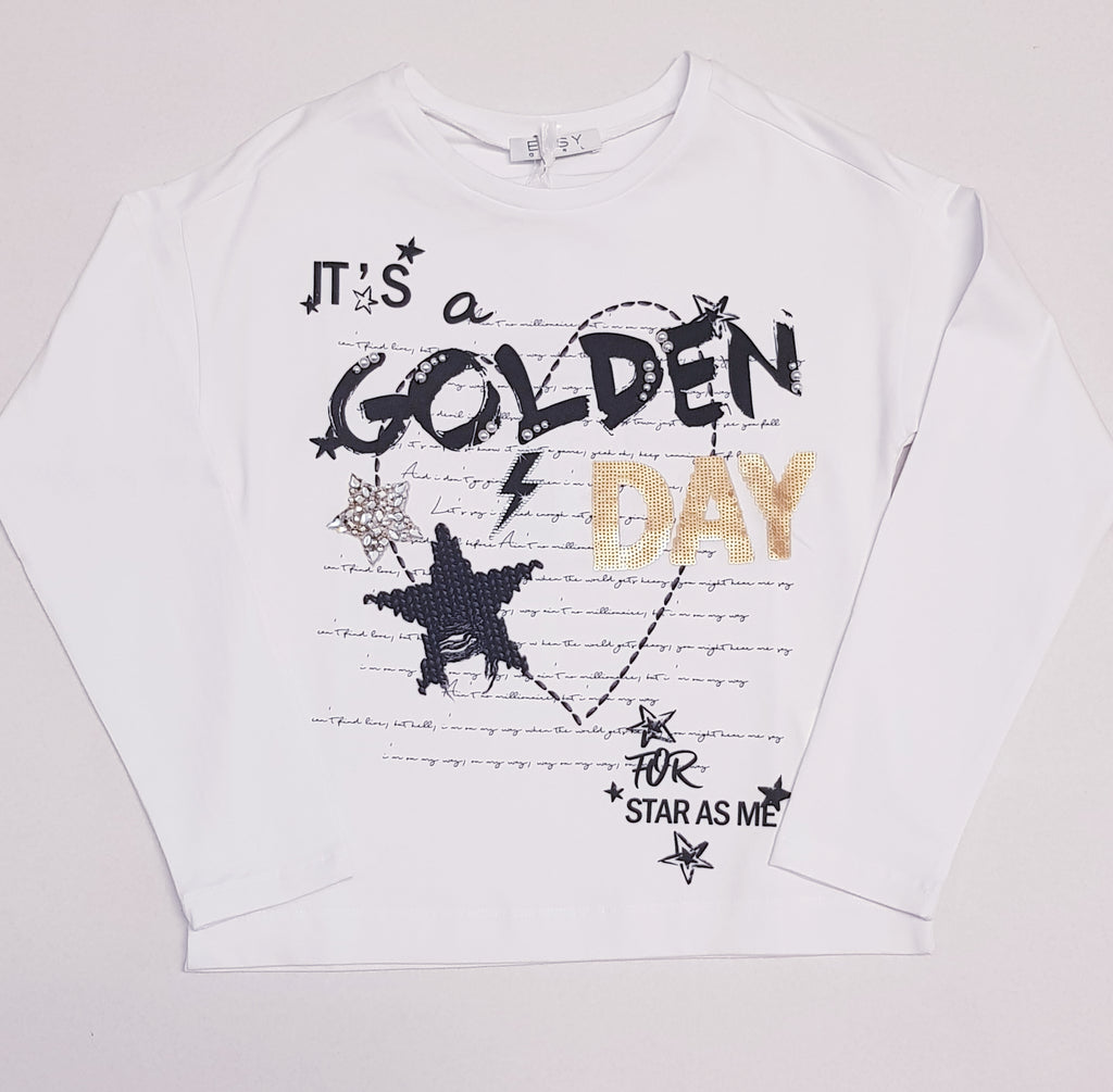 Elsy 'Its a Golden Day' Long Sleeved top (1596771663970)