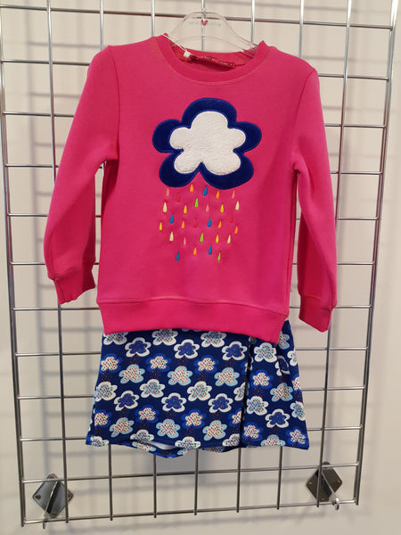 Agatha Ruiz De La Prada AW19 Dream Land Sweater & Shorts 2846/0896 (3934225170530)