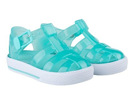 Igor Tenis Jelly Shoes Crystal Aquamarine 188 - Bumkins Designer Kids (529309204507)