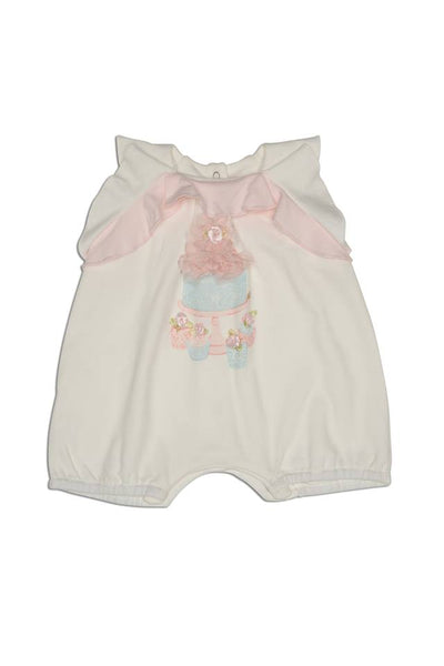 Kate Mack Birthday Bouquet Romper 363 - Bumkins Designer Kids
