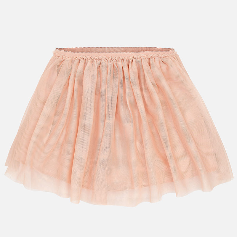 Mayoral Girl tulle skirt with twill effect 6908 - Bumkins Designer Kids (540949413915)