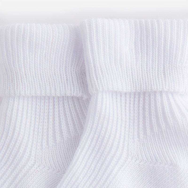 Mayoral Baby Boy white ribbed socks 9725 (733796335643)