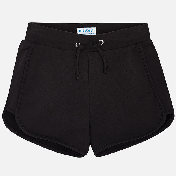Mayoral Girl Black Chenille shorts 624 (2049158512738)