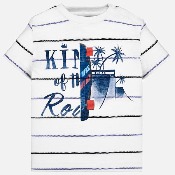 Mayoral Baby Boys Short sleeved palm tree t-shirt 1030