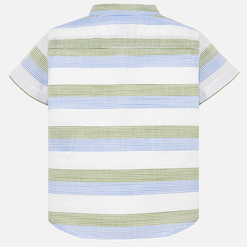 Mayoral Baby Boys Short sleeved mandarin collar shirt 1129 (2218501111906)