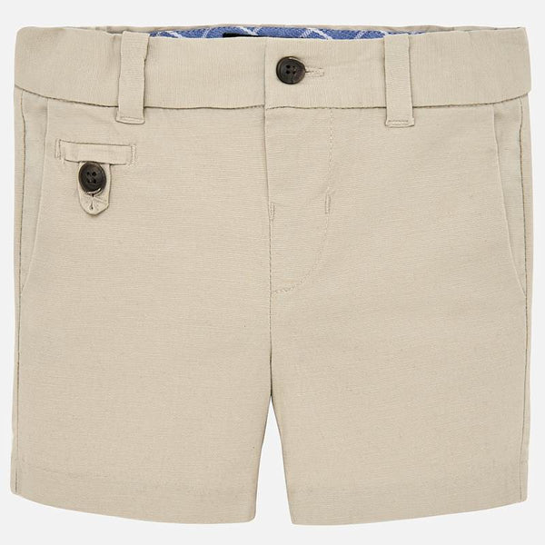 Mayoral Baby Boys Formal linen bermuda shorts 1238