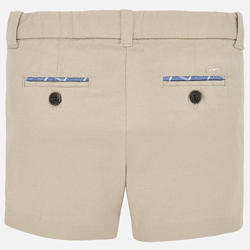 Mayoral Baby Boys Formal linen bermuda shorts 1238 (2218503536738)