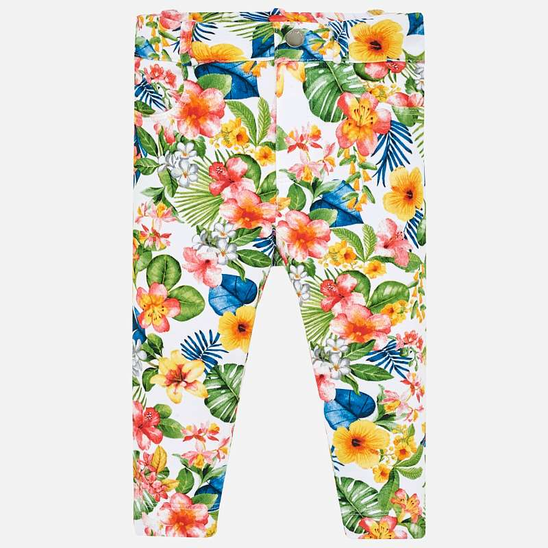 Mayoral Baby Girl Floral trousers 1518 (2182970933346)
